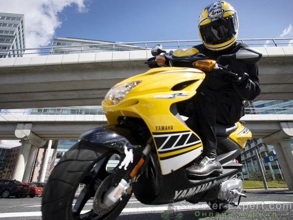 Обзор скутера  Yamaha Aerox R 2007 года выпуска