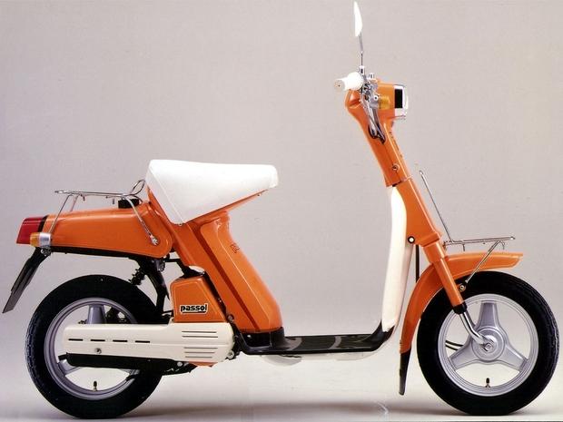 История развития скутеров Yamaha
