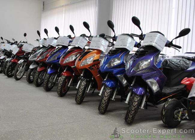 История развития китайских скутеров