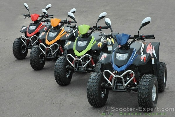 Детские квадроциклы Stels atv 50