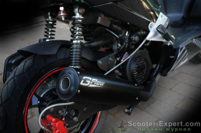 Глушитель для скутера от известной компании