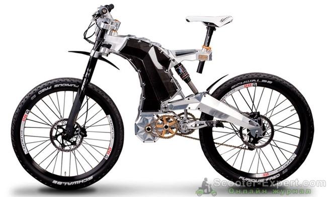 Электровелосипед будущего