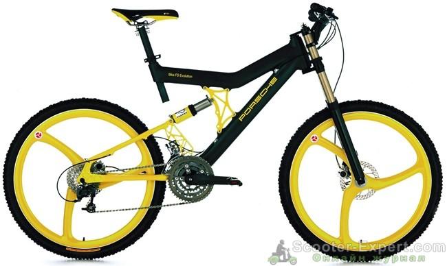 Велосипед Порше