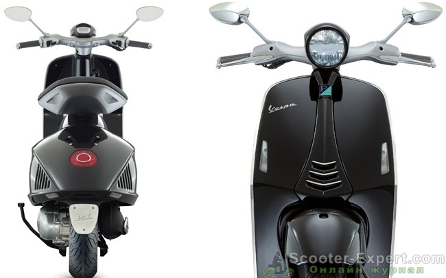 Концепт нового скутера Веспа - общий вид