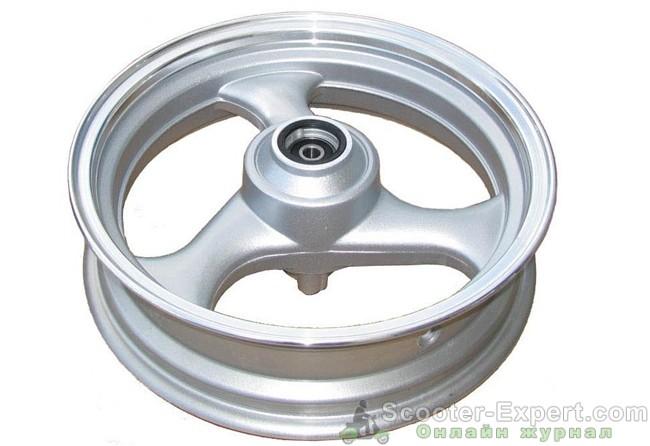 Переднее колесо скутера — устройство и конструктивные особенности