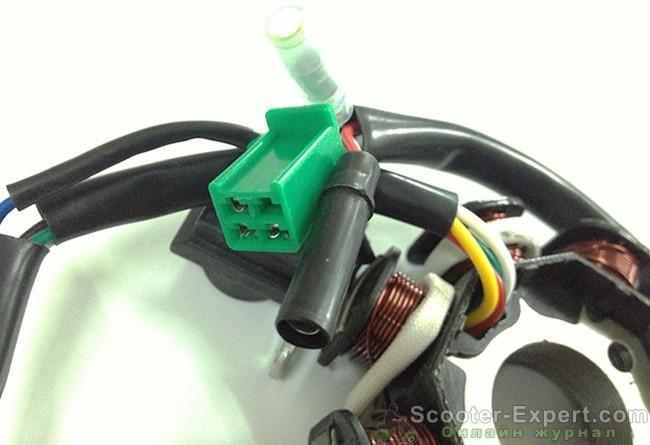 Проверка генератора скутера