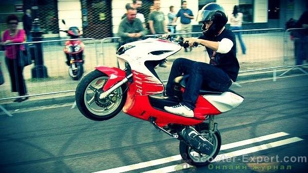 Запчасти при тюнинге скутера